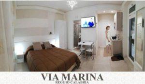 B&B Reggio Calabria banner monolocale in Guest House Via Marina