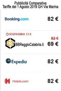 comparativa tariffe convenienti B&B Reggio Calabria_compressed